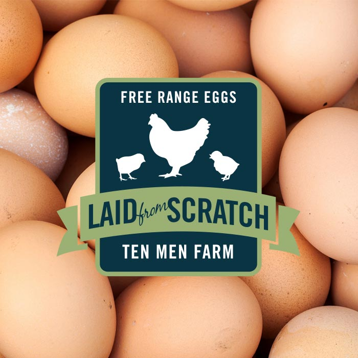 Laid from Scratch Eggs